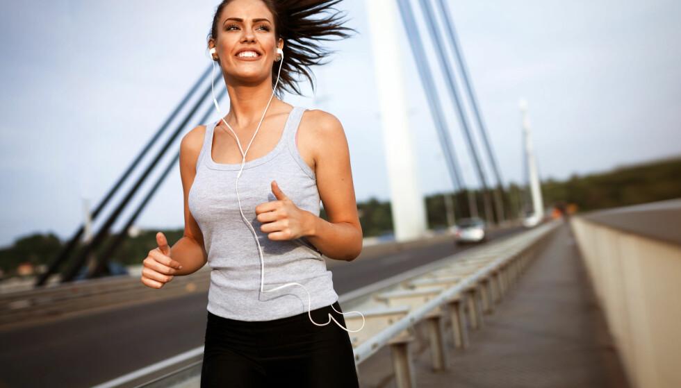 TRENING: Trening er med på å styrke hjernen. Og kanskje er det hjernen som har mest igjen for treningsøktene. FOTO: NTB Scanpix
