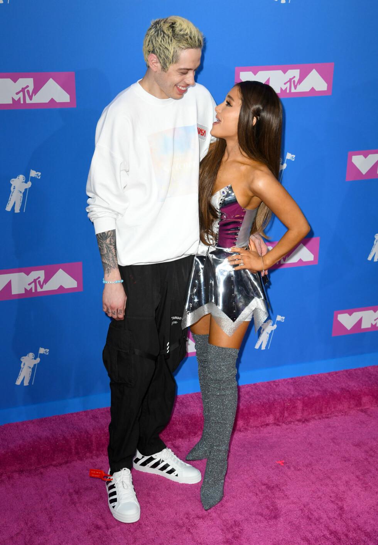 Pete Davidson og Ariana Grande