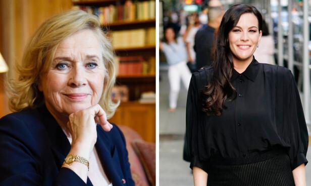 LIV OG LIV: Til KK bekrefter den amerikanske skuespilleren Liv Tyler at hennes mor, Beverle Lorence «Bebe» Buell, oppkalte henne etter den norske skuespilleren Liv Ullmann etter å ha sett henne på forsiden av TV-guiden på 70-tallet. FOTO: NTB Scanpix