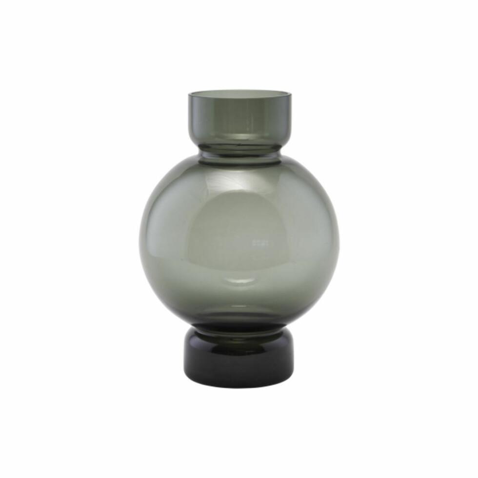 Vase fra House Doctor |324,-| https://www.hviit.no/products/vase-bubble-gra