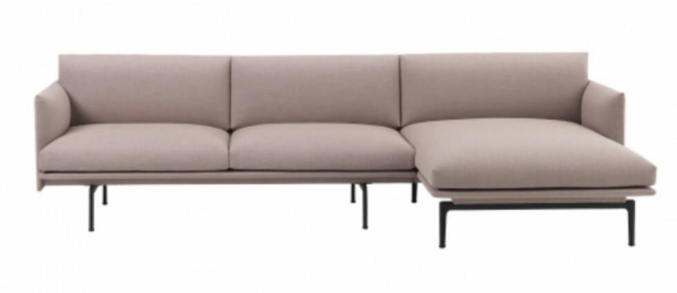 Sofa fra Muuto |41995,-| https://www.hviit.no/products/chaise-longueright-fiord-551-muuto