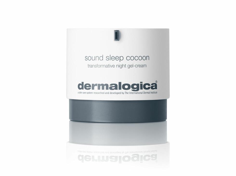 Med søvndyssende oljer (kr 995, Dermalogica, Sound Sleep Cocoon).