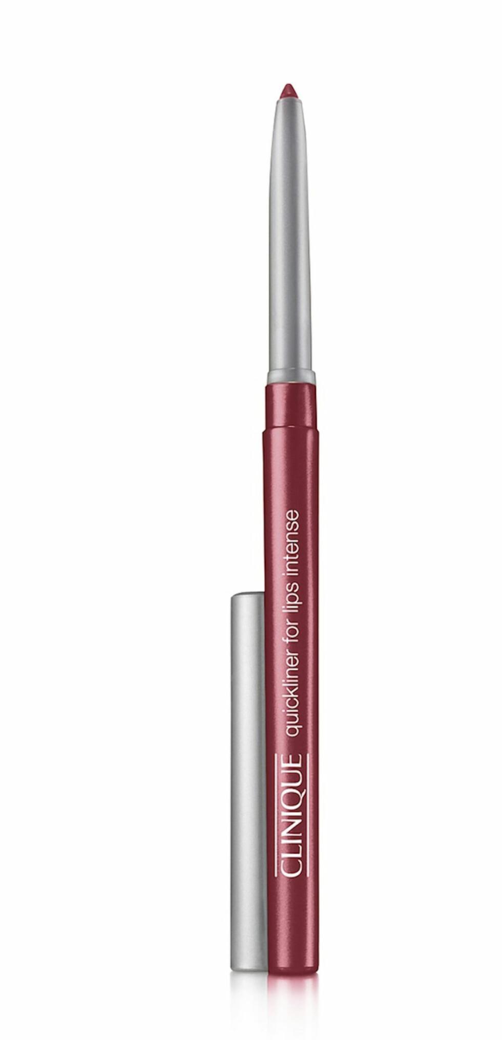Lipliner (kr185, Clinique, Quickliner for Lips Intense).