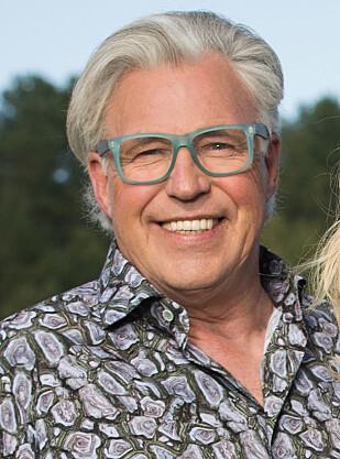 FINN SCHJØLL: Blomsterdekoratør Finn Schjøll husker bryllupet mellom Sonja og Harald som om det var i går. Han satte spesielt pris på de fine blomstene som pyntet opp Oslo Domkirke. FOTO: NTB Scanpix