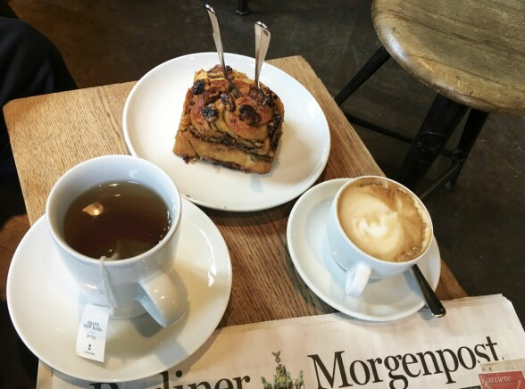 Zeit für Brot er et perfekt sted for en kaffepause med noe godt.
