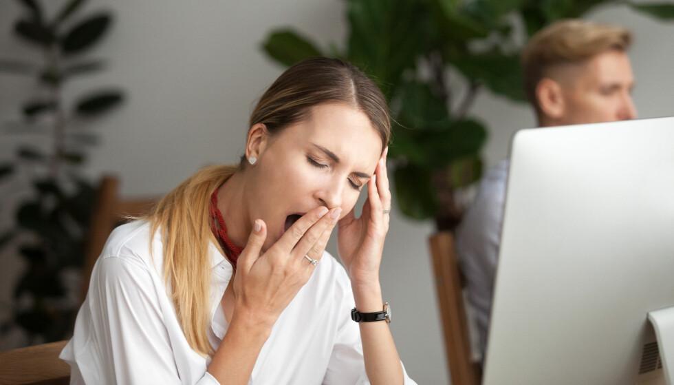 KVINNER RAMMES HARDERE: Stressrelaterte diagnoser og utmattelsessyndrom er vanligere blant kvinner, og det er også kvinner som oftest klager over søvnforstyrrelser. FOTO: NTB Scanpix