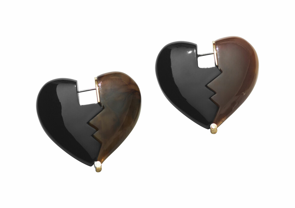 Hjerteformede (kr 250, H&M Studio).