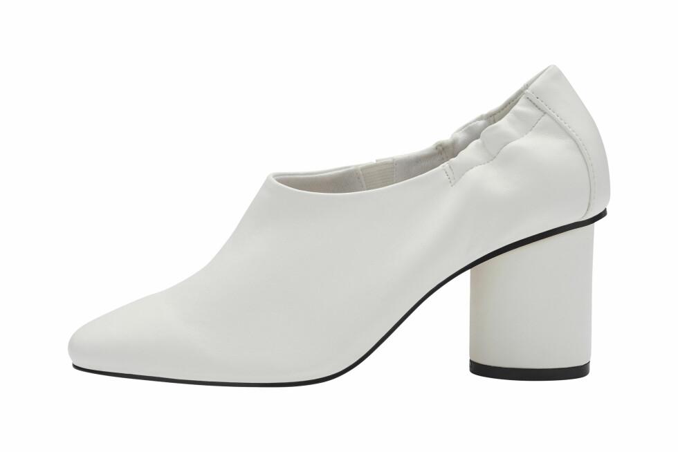 Hvite sko (kr 600, Bianco).
