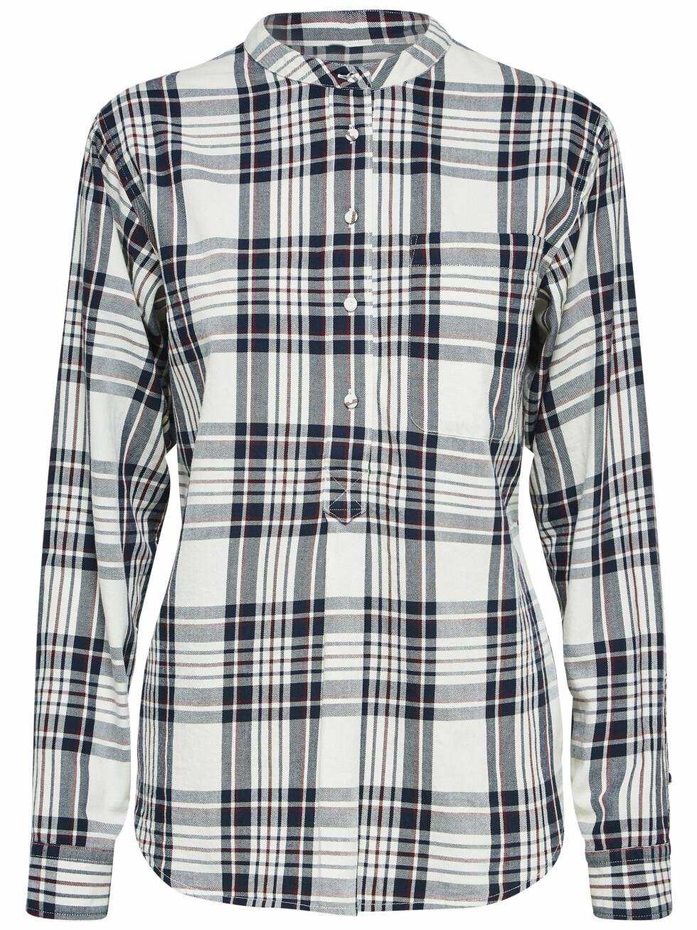 Rutete skjorte (kr 700, Selected Femme).