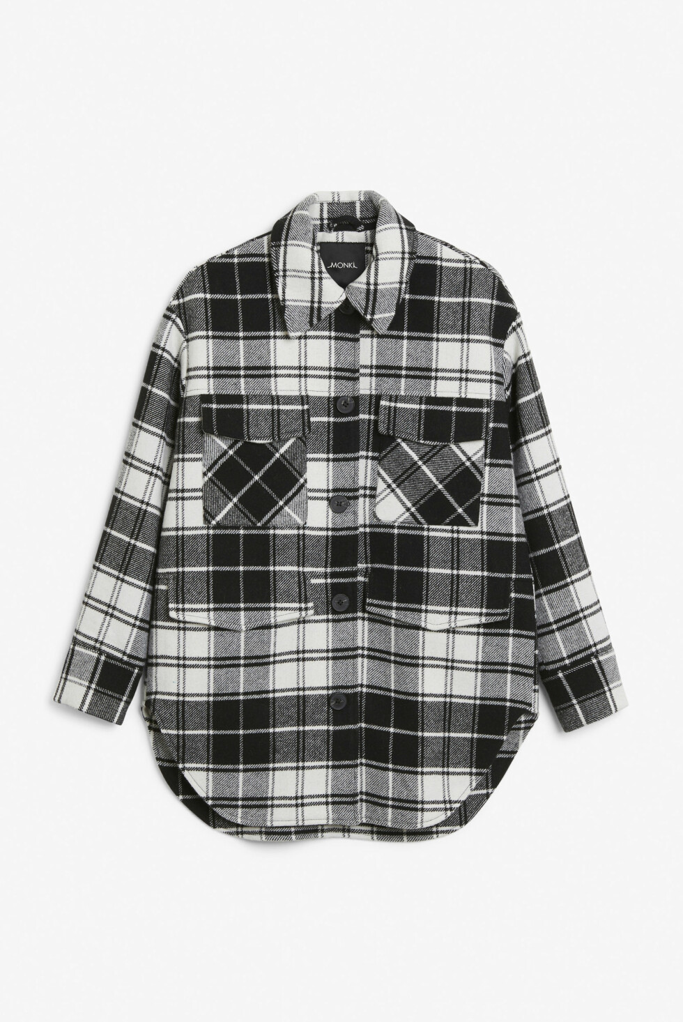 Rutete skjorte (kr 200, Monki).