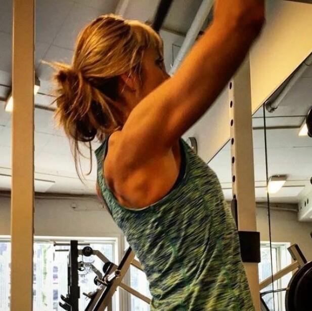 – Både styrketrening og løping må til for at jeg skal føle meg vel, både fysisk og psykisk. FOTO: Privat