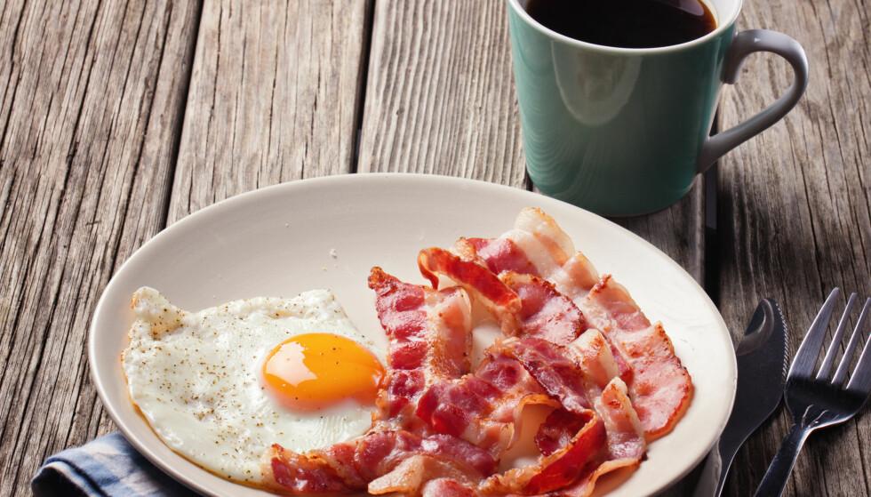 LAVKARBO: Har du byttet ut grovbrødet med egg og bacon? FOTO: NTB Scanpix