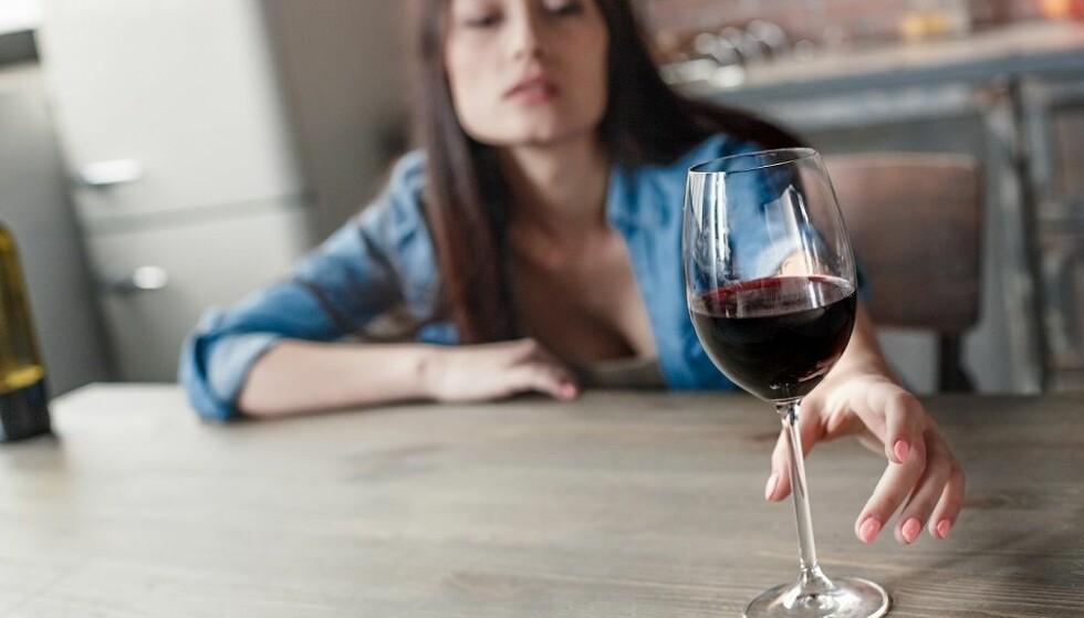 PSYKOLOGISKE PROBLEMER: Kvinner med rusproblemer sliter ofte også med psykologiske problemer i tillegg. Foto: Scanpix.