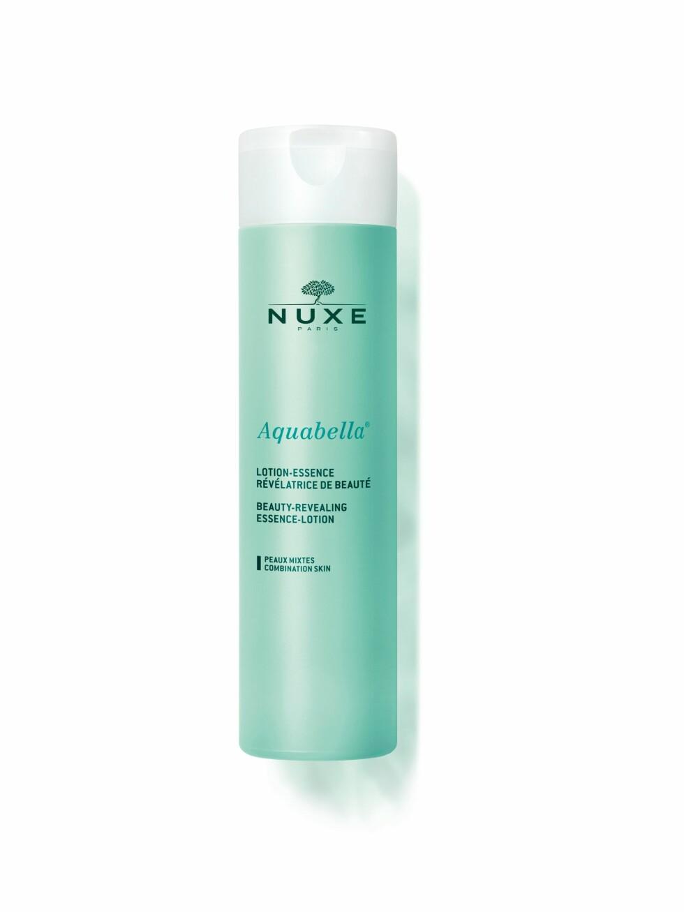 Essence-lotion ansiktsvann  | Aquabella | https://www.apotek1.no/produkter/nuxe-aquabella-essence-lotion-895231p?utm_source=KK.no&utm_medium=Advetorial&utm_campaign=Nuxe%20Aquabella