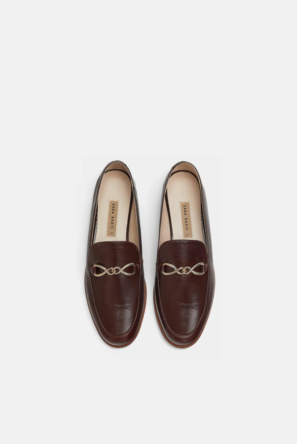 Sko fra Zara |600,-| https://www.zara.com/no/no/mokasin-i-skinn-p16922301.html?v1=6449830&v2=1074625
