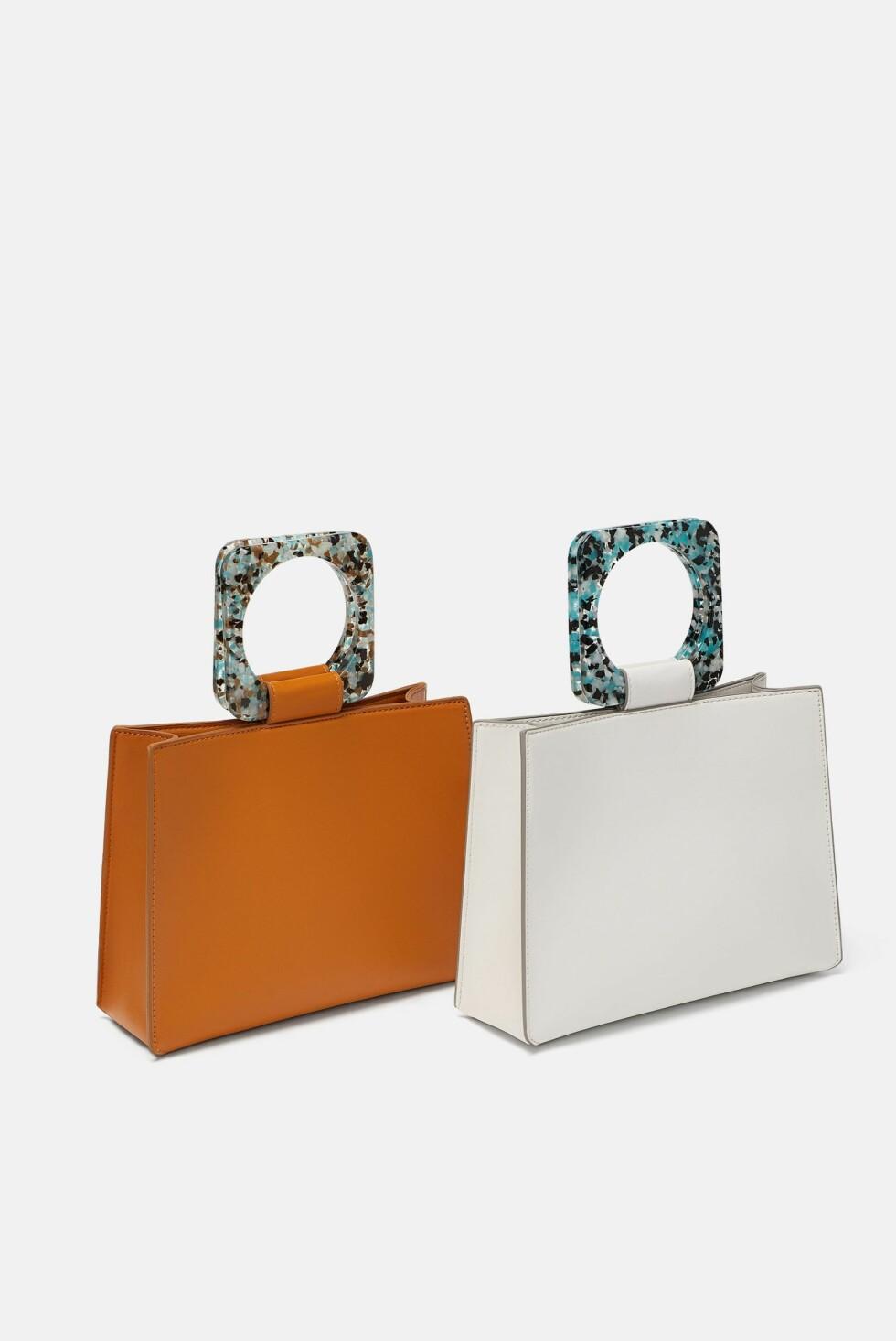 Veske fra Zara |350,-| https://www.zara.com/no/no/liten-shopper-med-h%C3%A5ndtak-p15392304.html?v1=6936574&v2=1074525