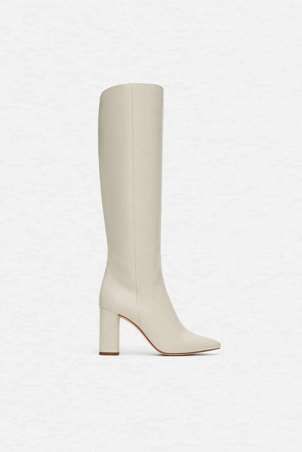 Boots fra Zara |1400,-| https://www.zara.com/no/no/h%C3%B8yh%C3%A6lt-skinnst%C3%B8vel-p16014301.html?v1=6449636&v2=1074516