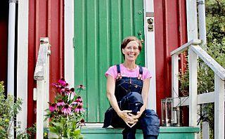 Marie valgte å «downshifte» - flyttet fra stor byleilighet til liten hytte på landet