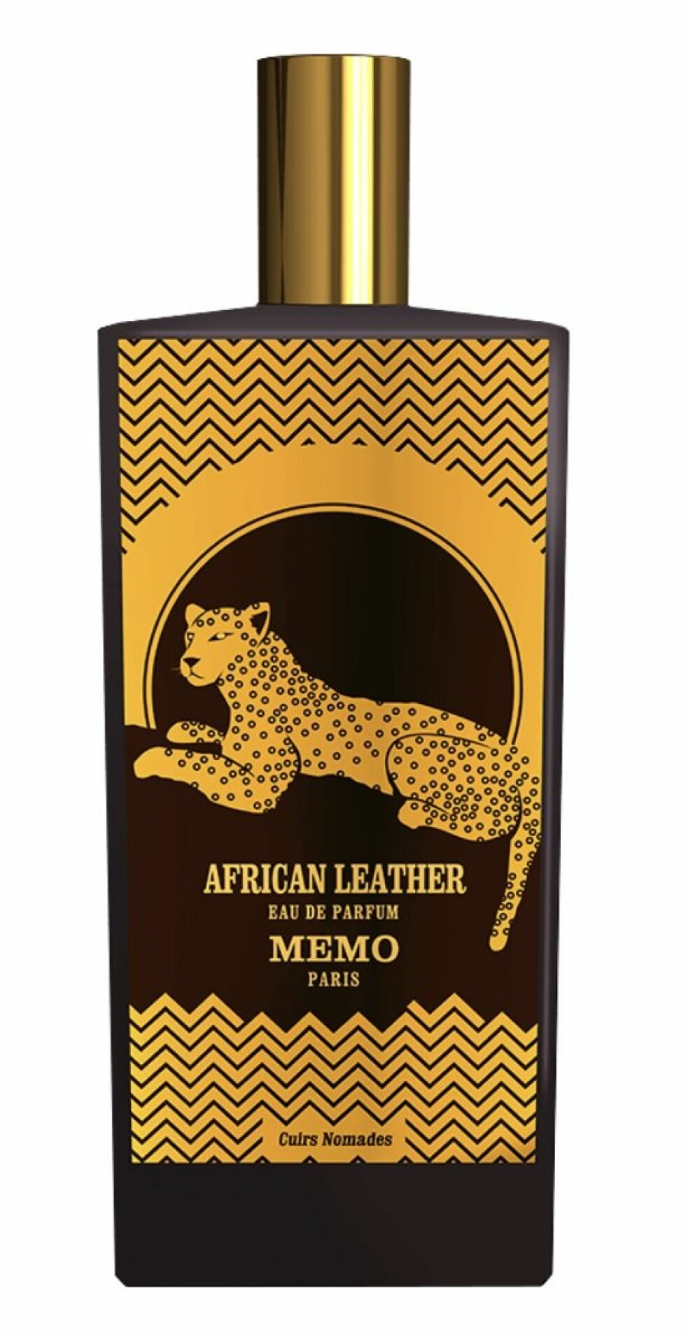 Lærakkorder, musk og krydderoljer som hinter deg til den afrikanske savannen (kr 2500, Memo Paris, African Leather).