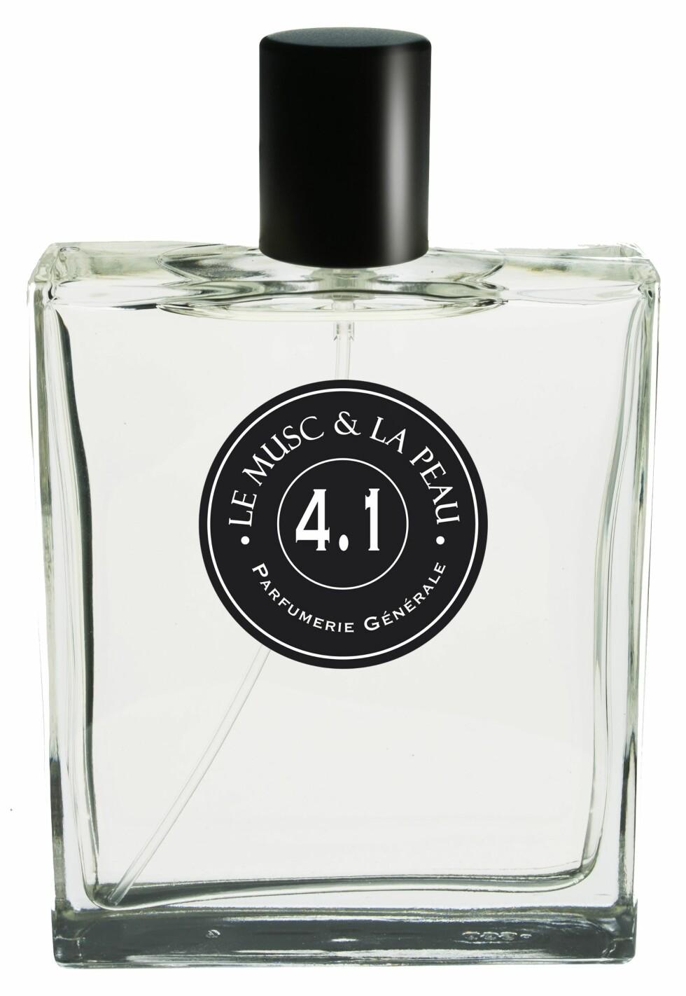 Med sju forskjellige musk som etterligner duften av hud (kr 950, Parfumerie Générale, 4.1 – Le Musc & La Peau).