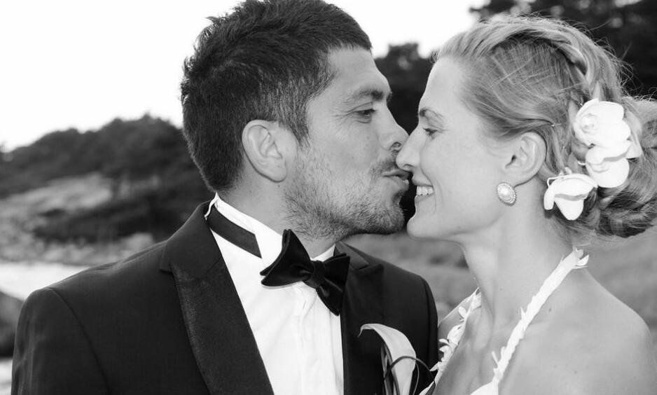 FANT KJÆRLIGHETEN PÅ TRENING: Kickbokser Thea Næss møtte ektemannen Christian Galvez på treningssamling. De to giftet seg i 2013. FOTO: Sara Rose / Privat