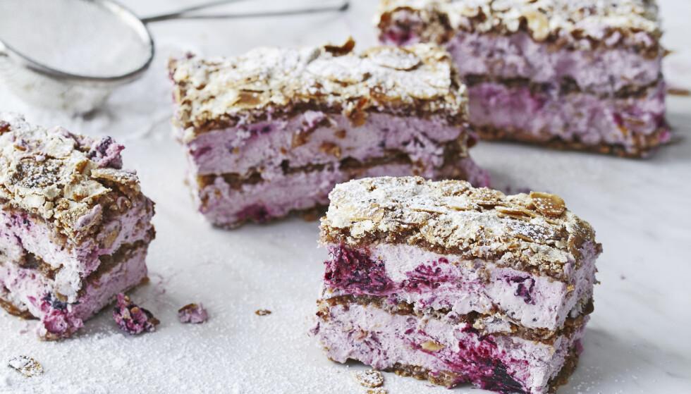 SKOGSBÆRFRAGILITÉ: Gjestene vil garantert elske denne søte desserten! FOTO: Winnie Methmann