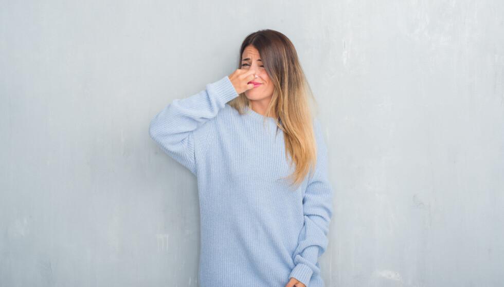 LUKTER EKKELT: Noen kjenner lukter, ofte ubehagelige, som ikke er der. FOTO: NTB Scanpix