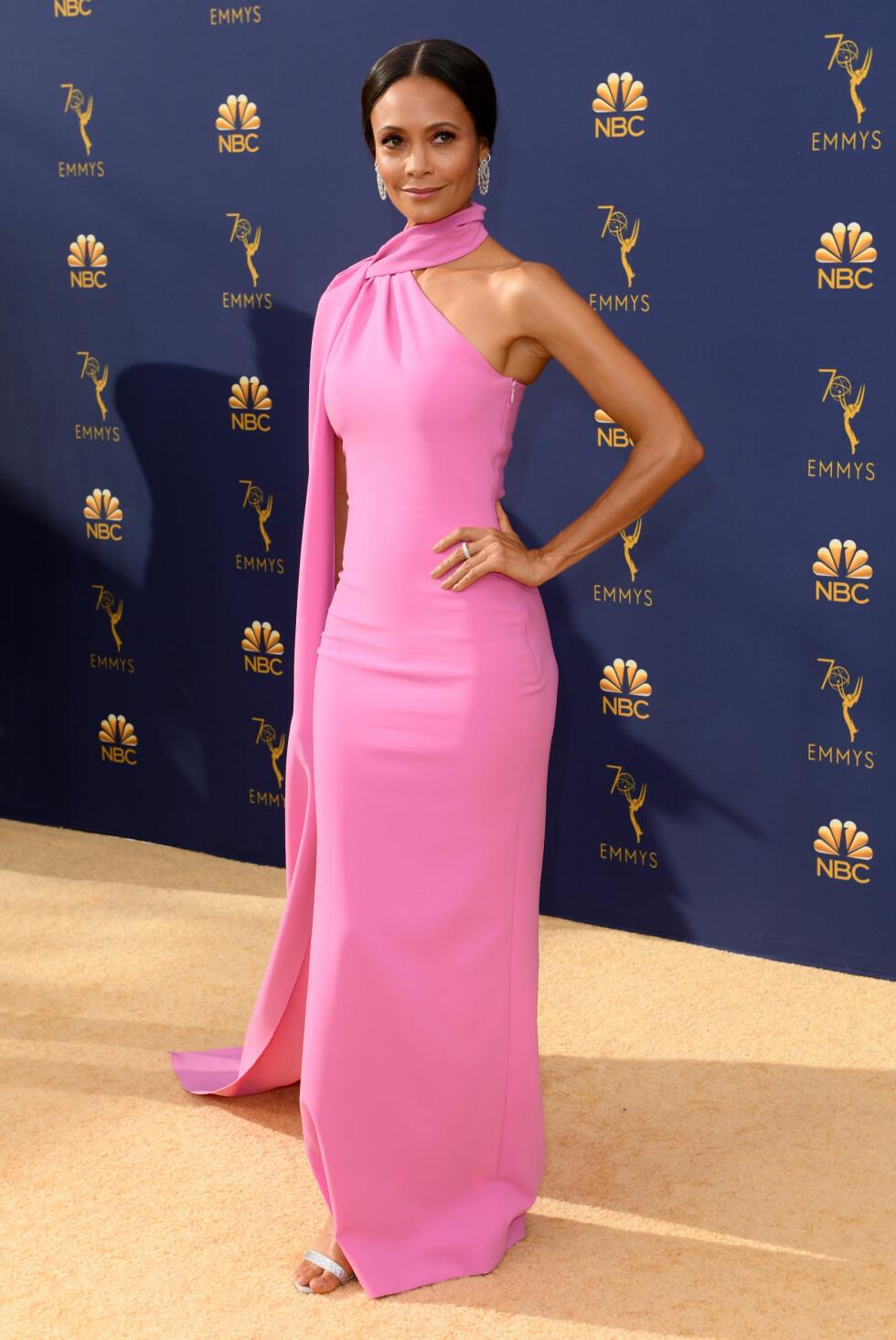 ROSA: Skuespiller Thandie Newton. FOTO: NTB scanpix