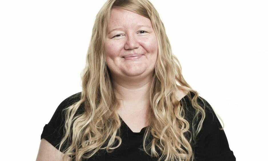 BLI NY: Slik så Elin ut før hun ble ny med KK. FOTO: Astrid Waller