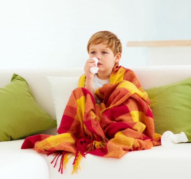 HOSTE: At hosten varer en stund etter en forkjølelse er ikke uvanlig. FOTO: NTB Scanpix