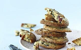 Cookies med lakris