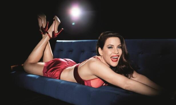 FRA KOLLEKSJONEN: Liv Tyler sier til KK at hun ønsker at Essence-kolleksjonen skal være mer enn bare sexy undertøy. FOTO: Triumph