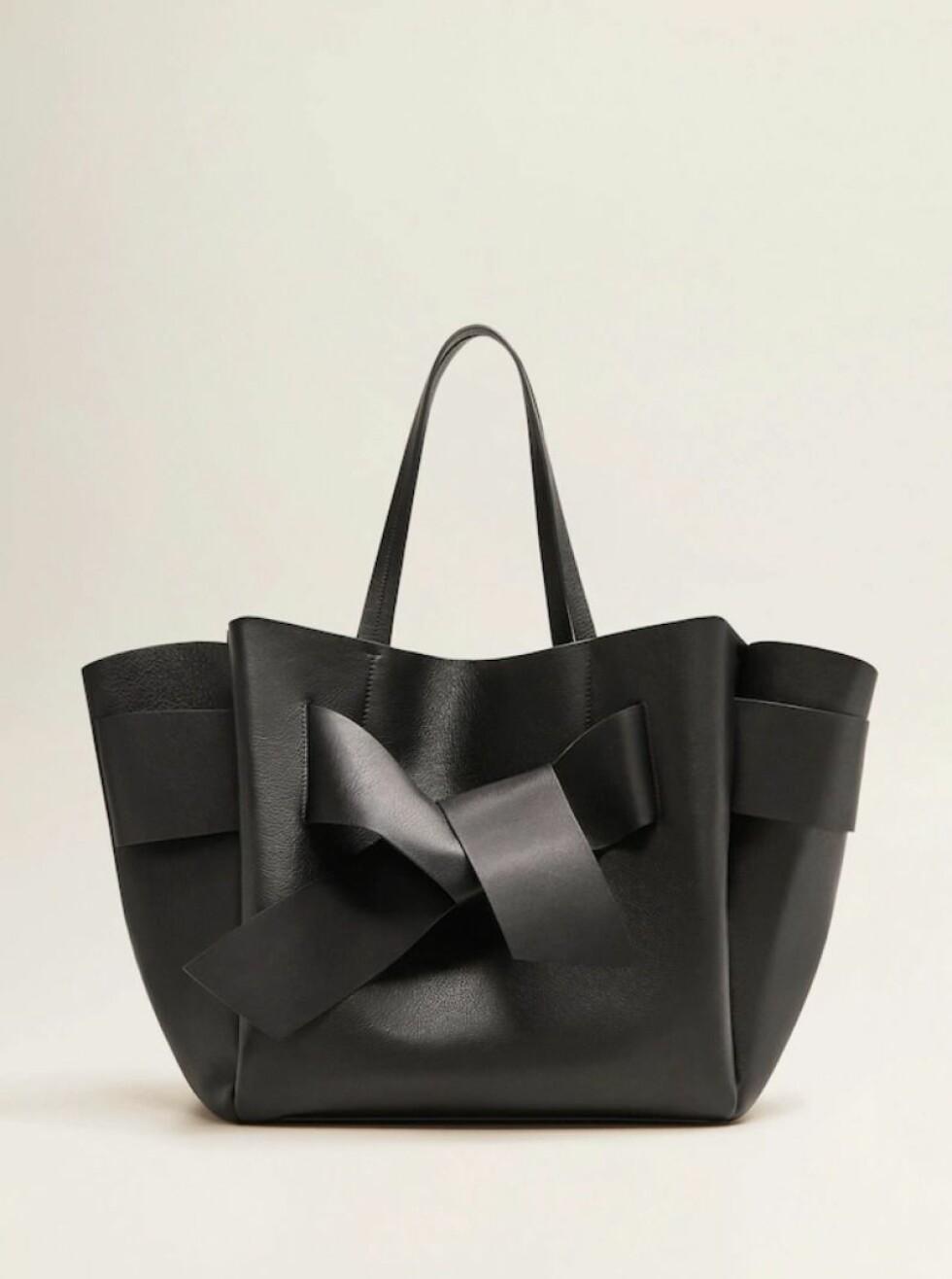<strong>Veske fra Mango |2700,-|https:</strong>//shop.mango.com/no-en/women/bags-shoppers/leather-shopper-bag_33035789.html?c=99&n=1&s=accesorios_she.accesorio;40,340,440