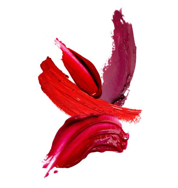 ALLTID I VESKEN: En god, rød leppestift er noe Rosie Huntington-Whiteley alltid har med seg. Foto: Scanpix