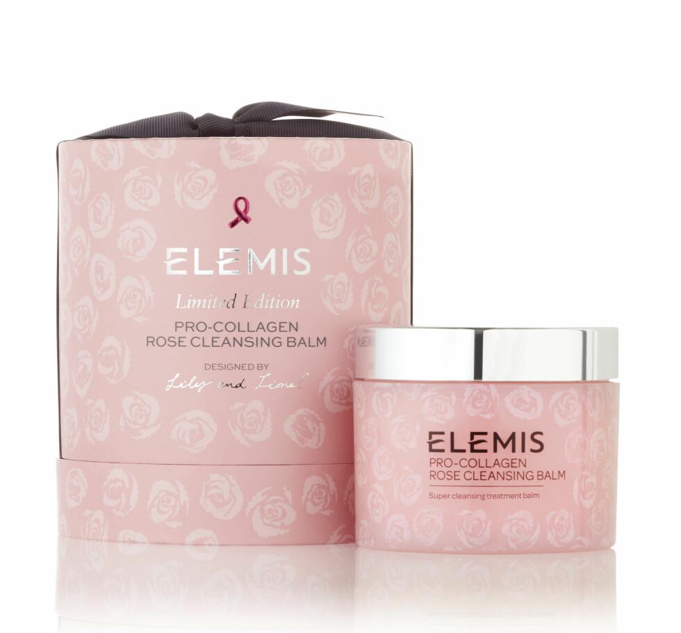 2. Rensebalm med rose i anledning rosa sløyfe-kampanjen (kr 1000, Pro-Collagen Rose Cleansing Balm).