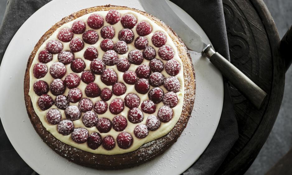 SABLÉ BRETON: Du kan også stikke bunnen ut i små sirkler og lage fine porsjonskaker. FOTO: Lars Ranek