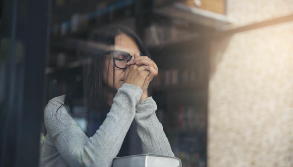 METAKOGNITIV TERAPI: Over 85 prosent av pasienter med generell angst ble friske eller mye bedre etter tolv timer med såkalt metakognitiv terapi, viser en undersøkelse. FOTO: NTB Scanpix