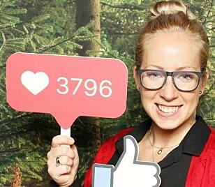 KILDER TIL INSPIRASJON OG KUNNSKAP: Sosiale medier ekspert Janet Usken bruker selv Facebook flittig for å finne inspirasjon. FOTO: Privat