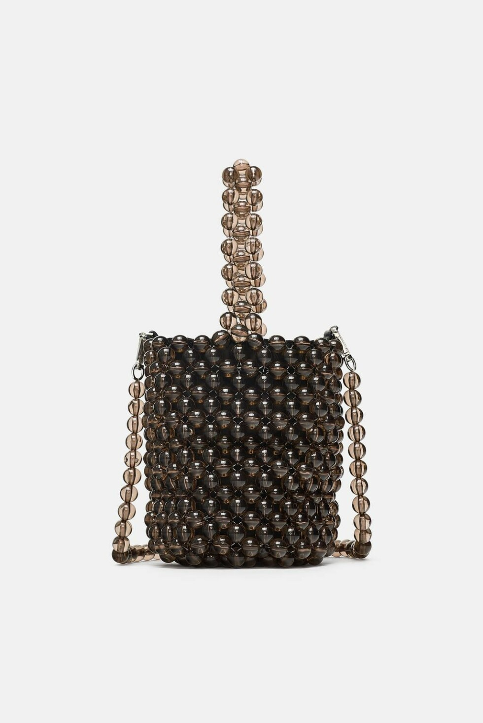 Veske fra Zara |500,-| https://www.zara.com/no/no/mini-poseveske-med-sm%C3%A5-kuler-p16420304.html?v1=7503518&v2=1074660