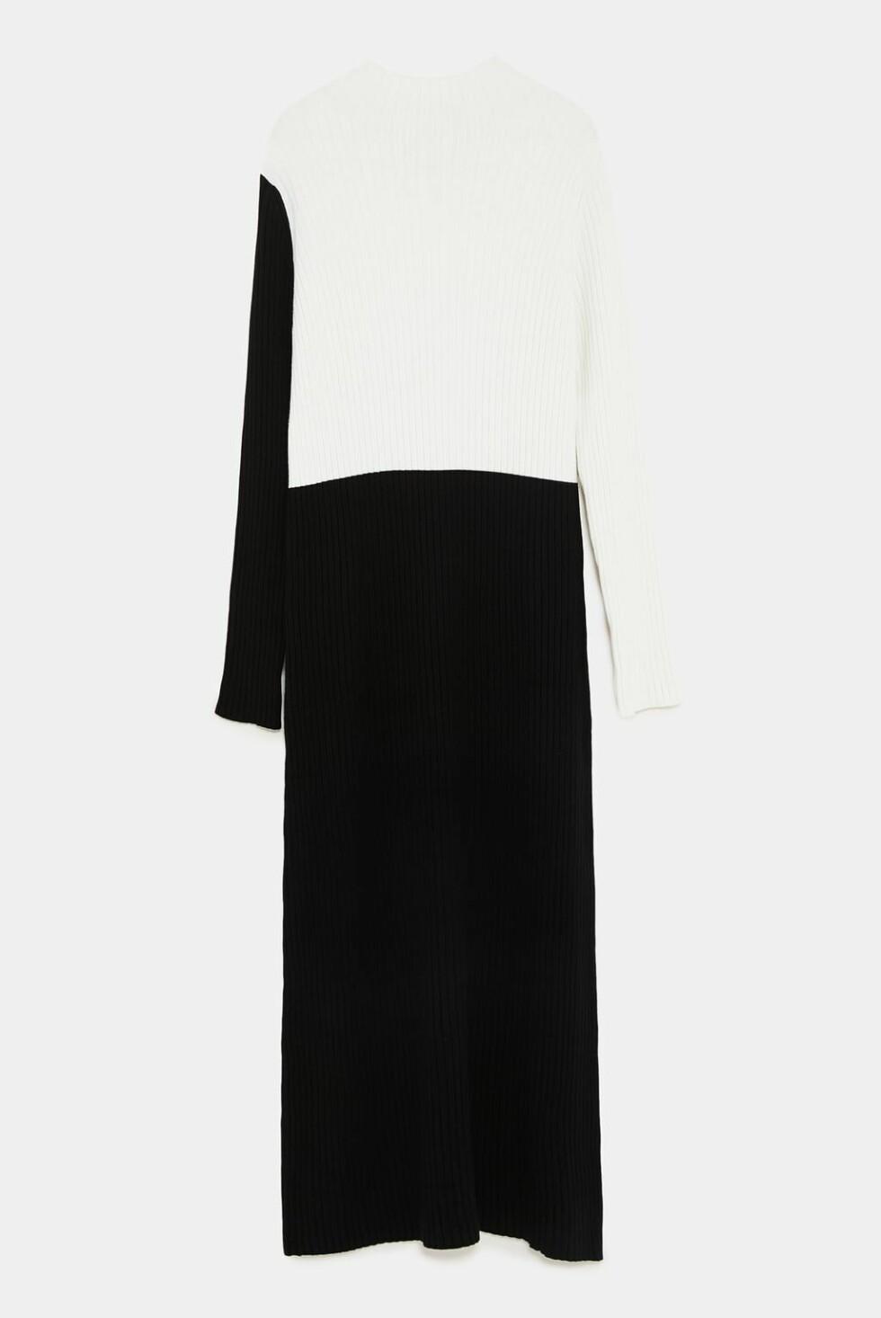 Kjole fra Zara |550,-| https://www.zara.com/no/no/strikkekjole-med-kontrastfarger-p04331114.html?v1=7269023&v2=1074660