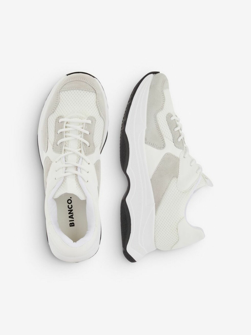 Sneakers fra Bianco |750,-| https://www.bianco.com/no/no/bi/damesko/sneakers/alia-chunky-sneakers-93250006.html?cgid=bi-women-sneakers&dwvar_colorPattern=93250006_White1