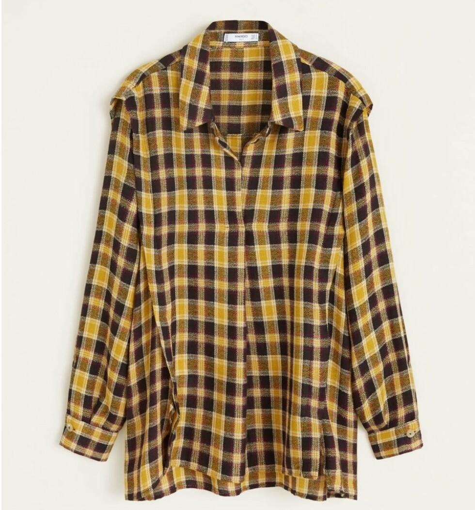 Skjorte fra Mango |349,-| https://shop.mango.com/no-en/women/shirts-shirts/check-shirt_31017652.html?c=12&n=1&s=nuevo