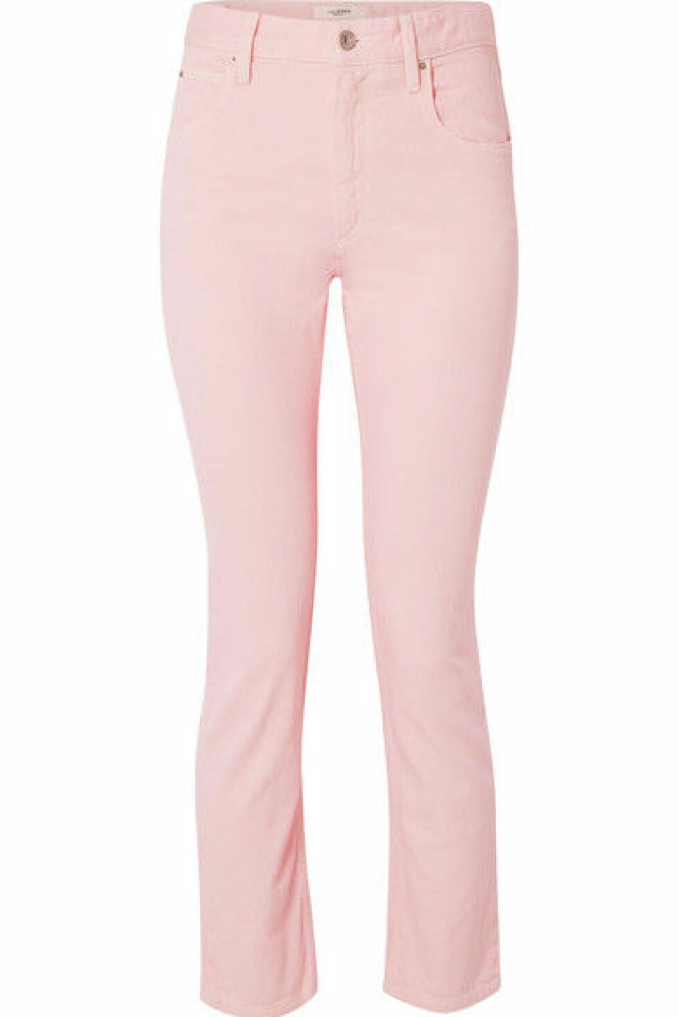 Jeans fra Isabel Marant Etoile |2178,-| https://www.net-a-porter.com/no/en/product/1060264/isabel_marant_etoile/fliff-slim-boyfriend-jeans