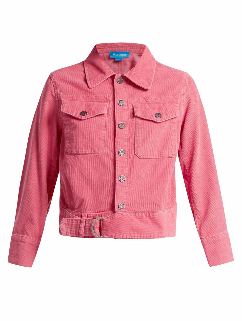 Jakke fra M.i.H Jeans |2170,-| https://www.matchesfashion.com/intl/products/M-i-h-Jeans-Paradise-cropped-corduroy-jacket-1208700