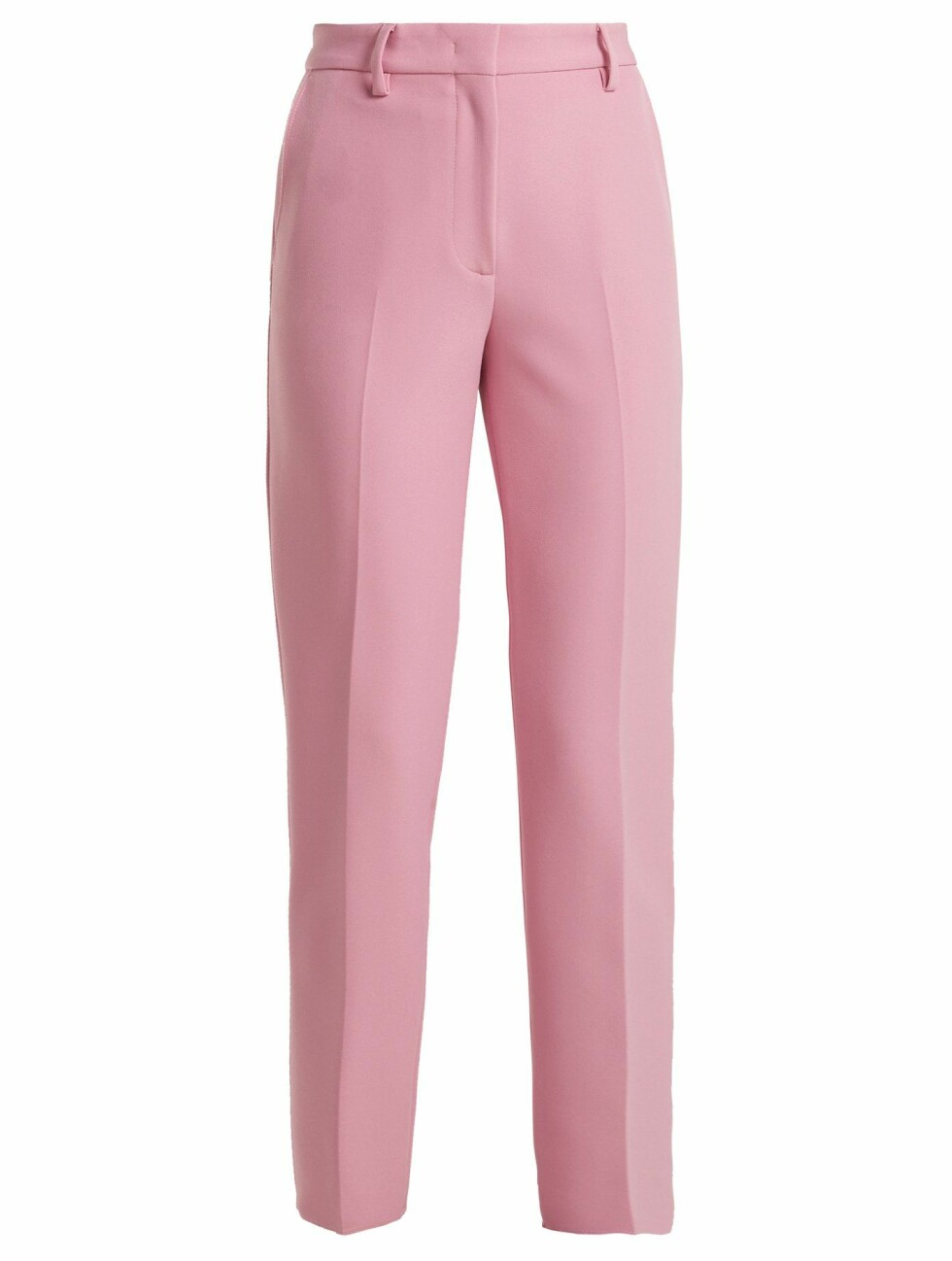 Bukse fra MSGM |1890,-| https://www.matchesfashion.com/intl/products/MSGM-Mid-rise-crepe-trousers--1209802