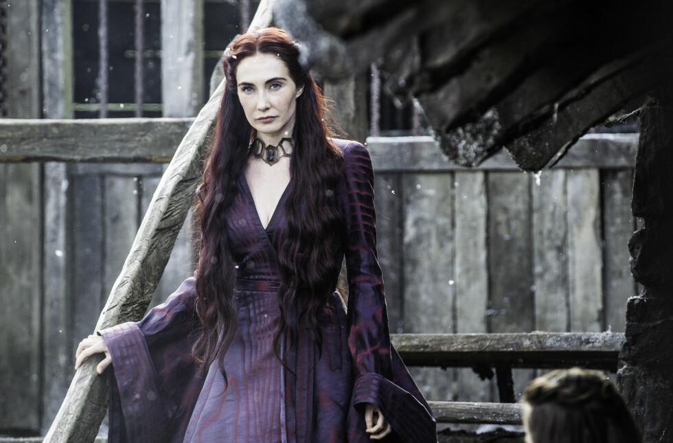 GOT: Den nederlandske skuespilleren Carice van Houten spiller Melisandre. FOTO: HBO