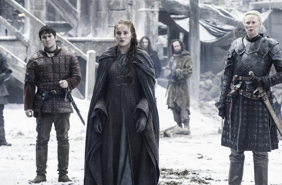 GOT: Sophie Turner spiller karakteren Sansa Stark. FOTO: HBO