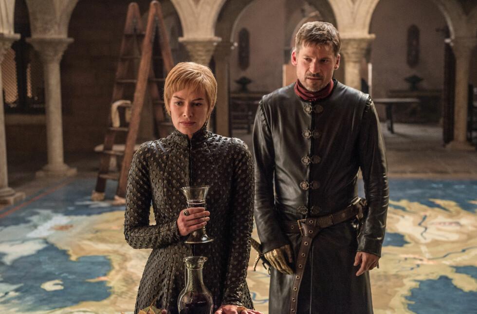 GOT: Lena Headey og Nikolaj Coster-Waldau spiller Jaime og Cersei Lannister. FOTO: HBO