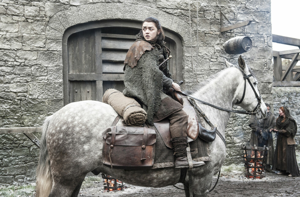 GOT: Arya Stark portretteres av Maisie Williams. FOTO: HBO