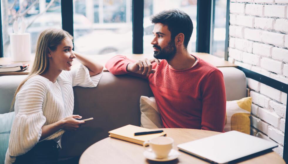 FØRSTE DATE ETTER BRUDDET: Her får du 5 råd som kan være fine å ta med seg når man nylig har kommet ut av et forhold. FOTO: NTB Scanpix